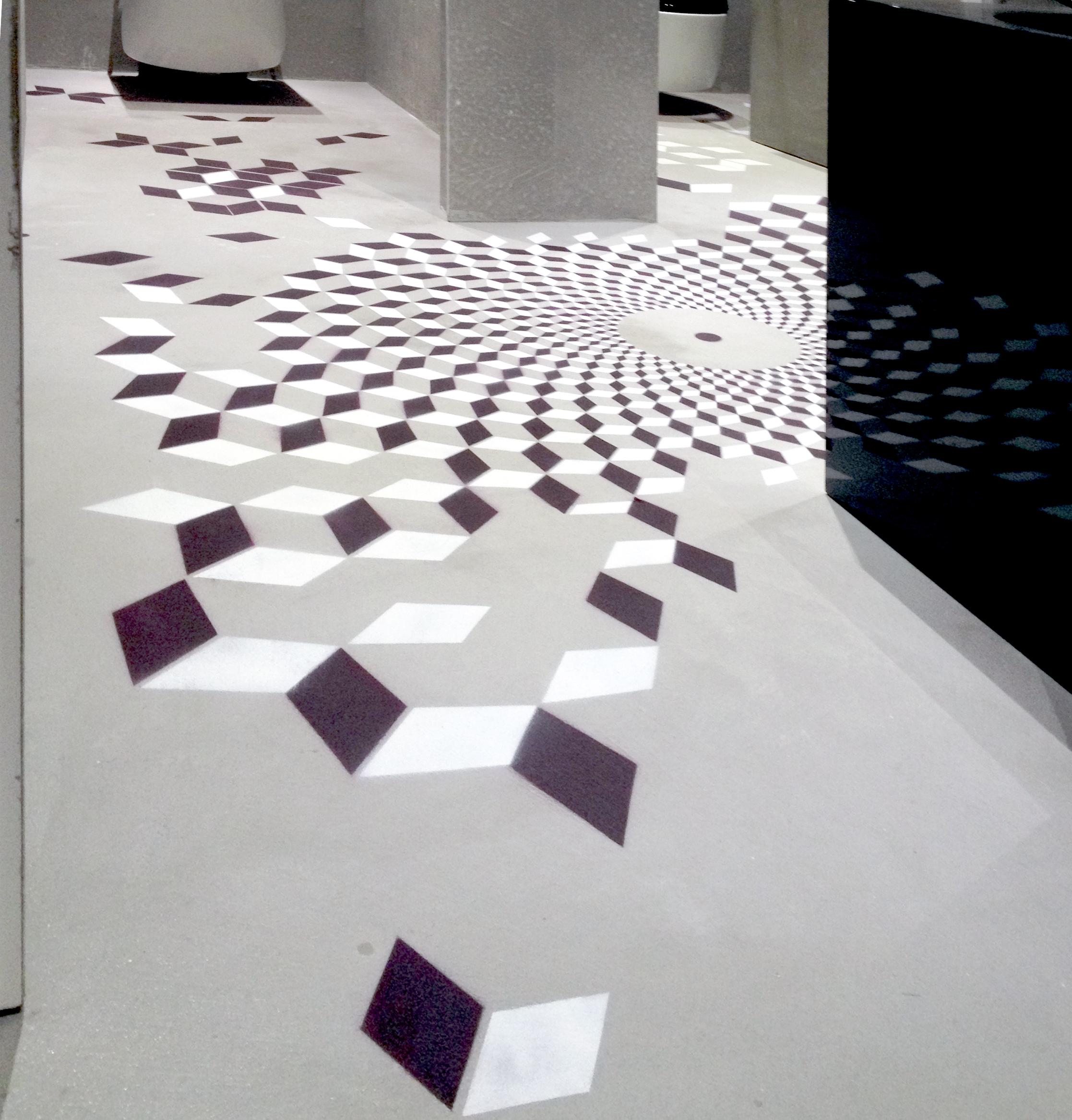Pavimenti per uffici all'Eur, il nono piano